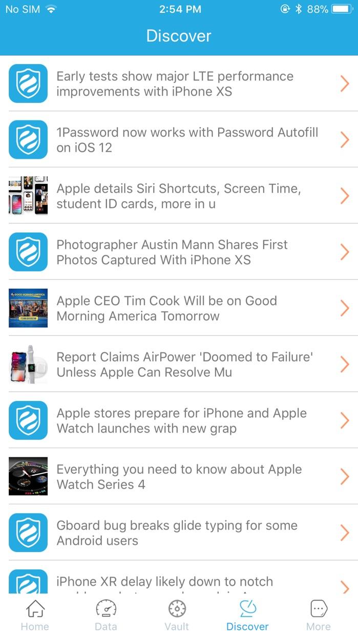 MobiShield Screenshot