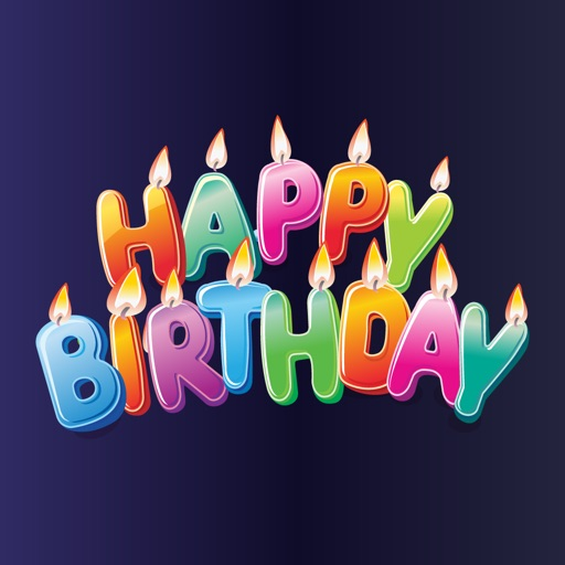 2018 Happy Birthday Stickers By Salma Akter
