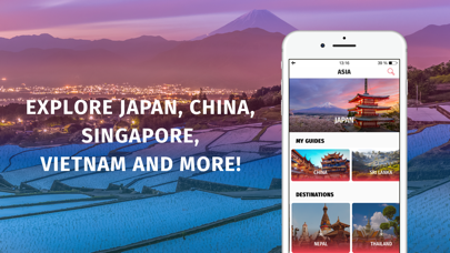 Asia Travel Guides Offline
