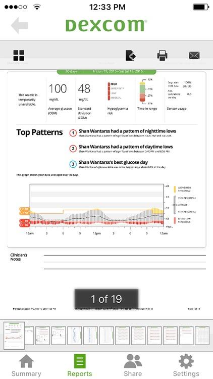 Dexcom CLARITY screenshot-4