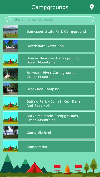 Vermont Campgrounds & Parks screenshot-1