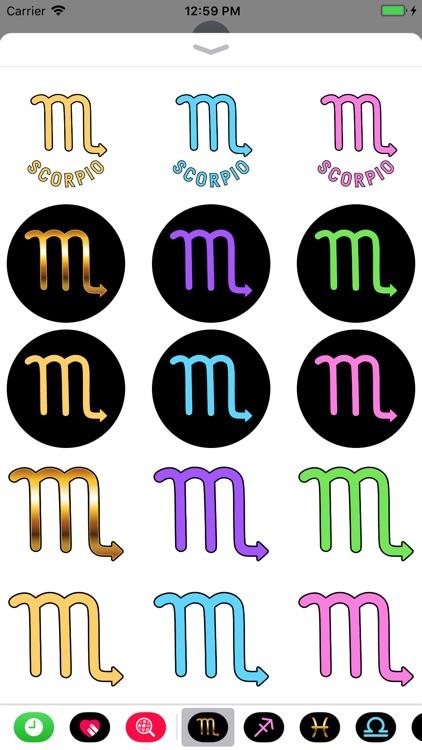 SCORPIO Stickers