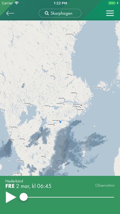 Grönt väder – lokal prognos screenshot-3