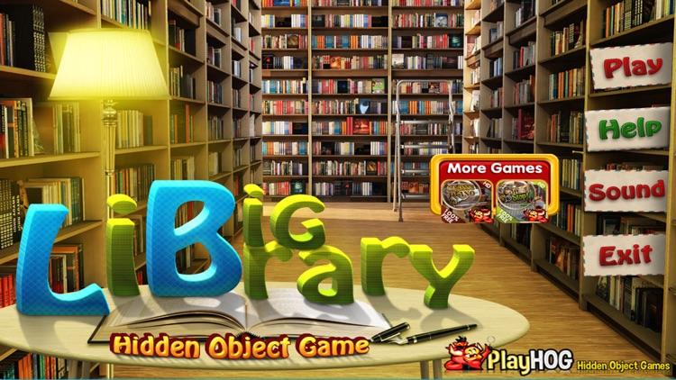 Big Library Hidden Object Game screenshot-3