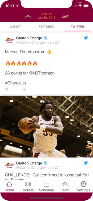 Canton Charge on the App Store