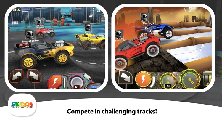 Best Apps For 4 Year Olds >> Cool Math Games: Kids Race Car by Skidos Learning