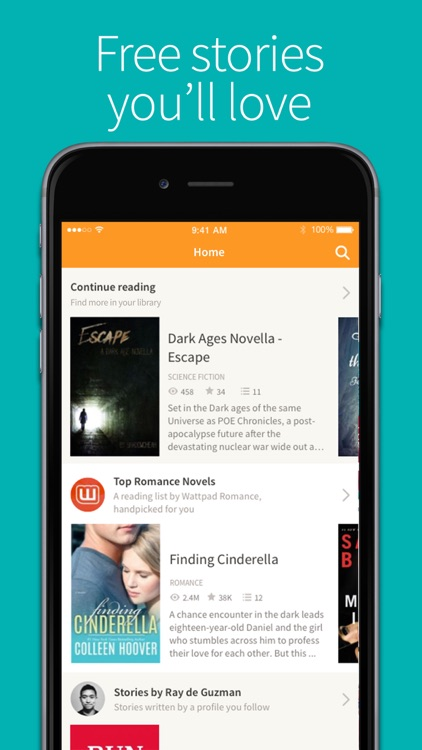 Wattpad - Read unlimited books and eBooks screenshot-0