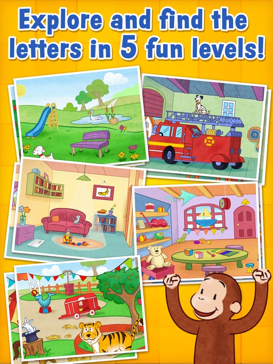 Curious George: Letters screenshot-1
