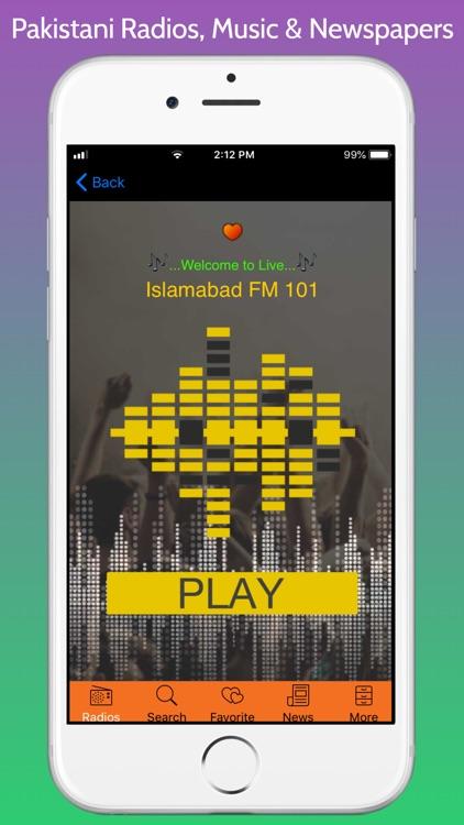 Pakistani Radios, Music & News screenshot-7