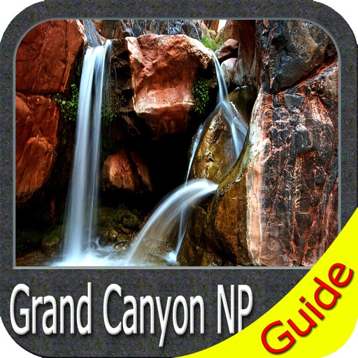 Grand Canyon National Park - GPS Map Navigator