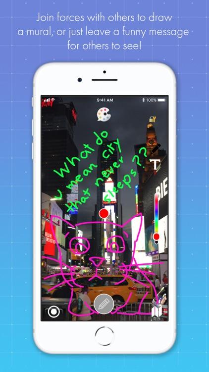 HideMessage AR screenshot-4