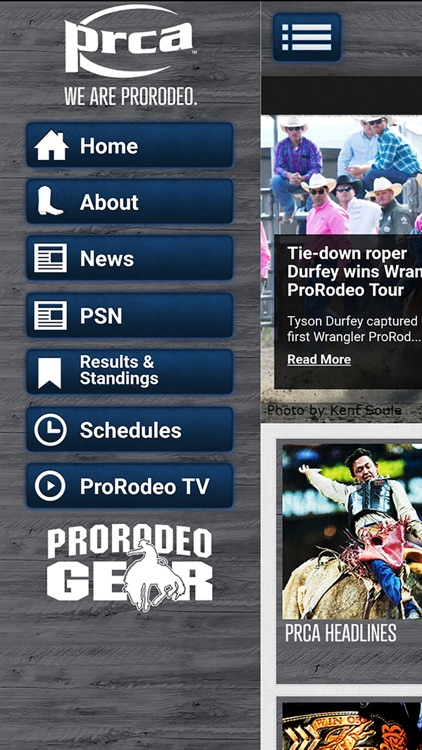 PRCA ProRodeo screenshot-2