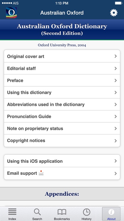 Australian Oxford Dictionary screenshot-4