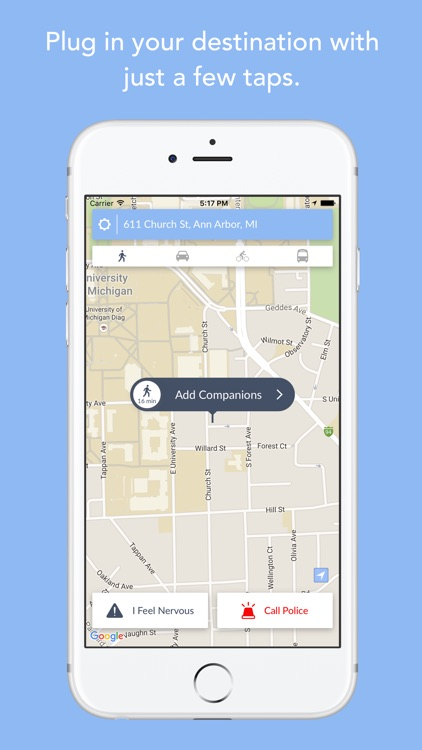 Companion: Mobile Personal Safety