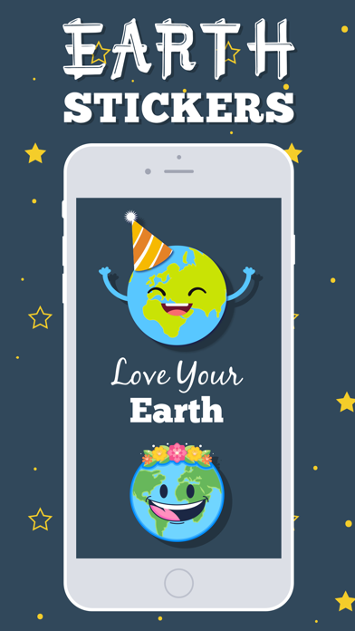 Earth Emojis screenshot one