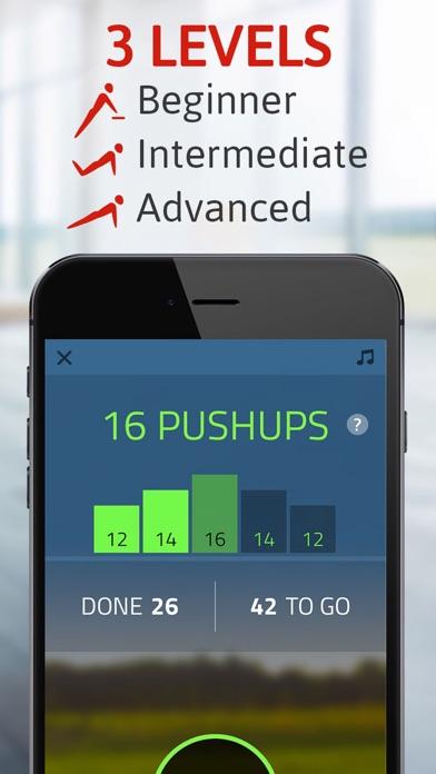 Push ups: 100 pushups trainer Screenshot