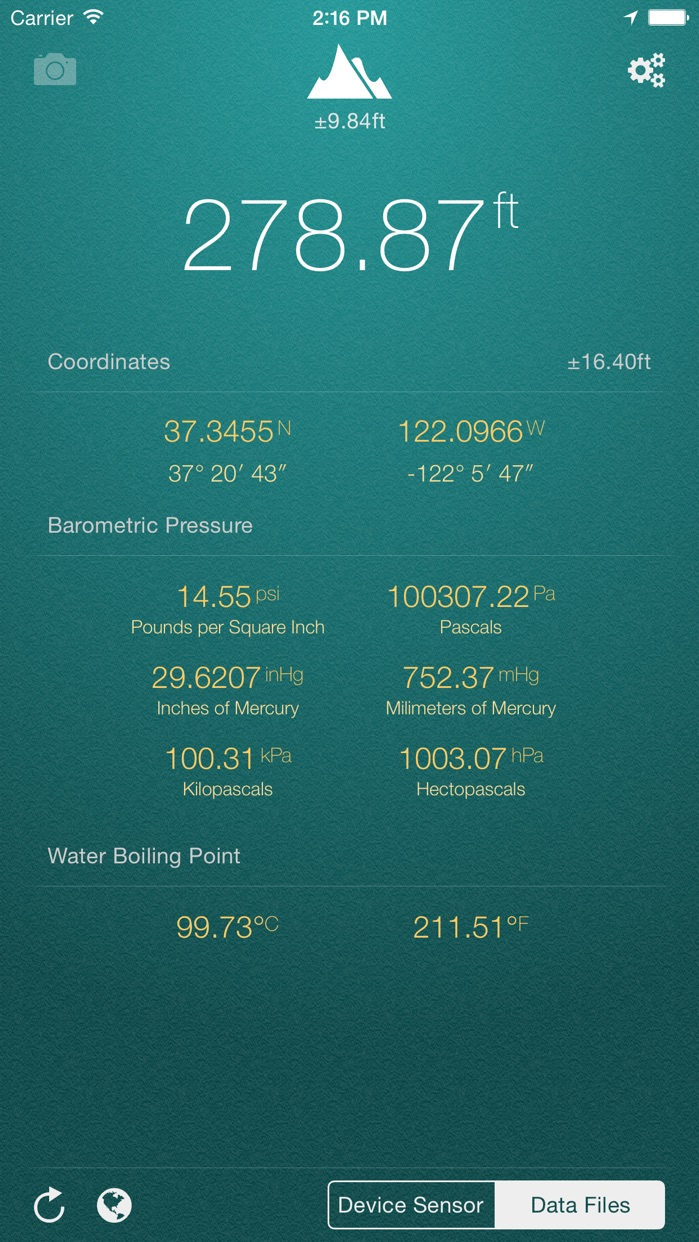 My Altitude Screenshot