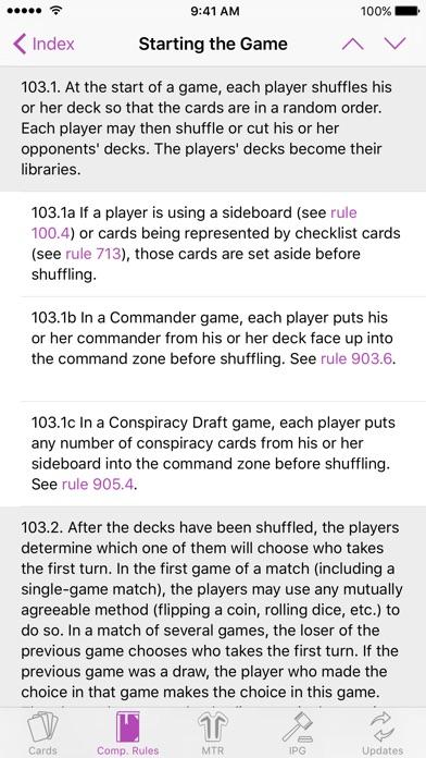 Mtg Guide review screenshots