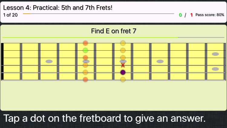 FretWiz: Fretboard Trainer screenshot-3