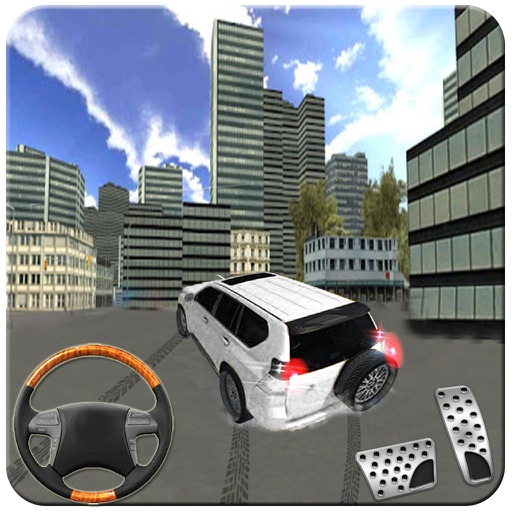 Prado Driving Car Adventure in Offroad City Stunts