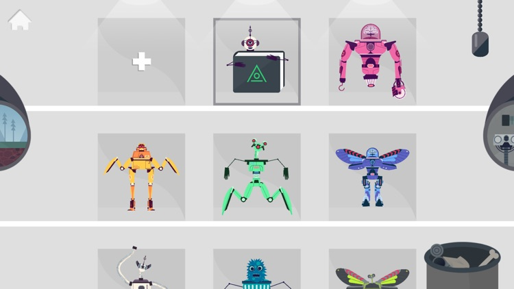 The Robot Factory by Tinybop