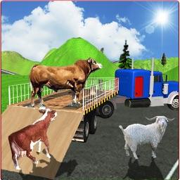 Animal Cargo Truck 3D