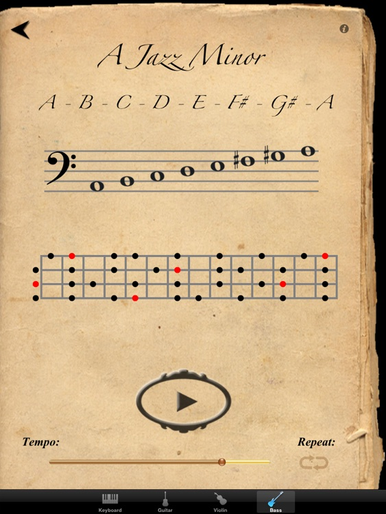 Scales & Modes for iPad screenshot-4