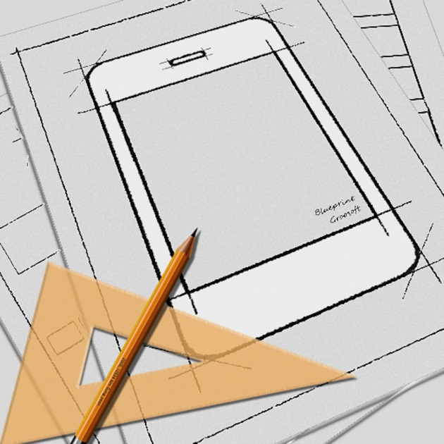 Blueprint lite app mockup on the app store blueprint app mockup malvernweather Image collections
