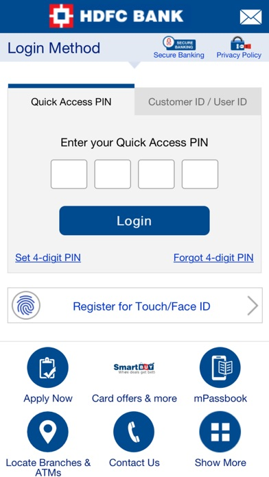 Screenshot for HDFC Bank Mobile App in Czech Republic App Store