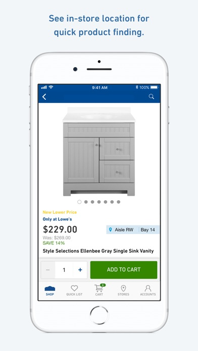 Screenshot for Lowe's Home Improvement in United States App Store