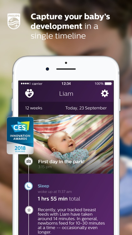 uGrow baby development tracker screenshot-0