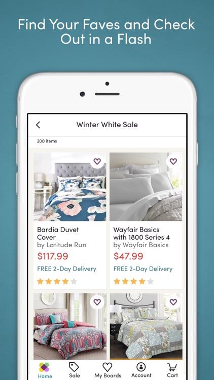 Wayfair – Shop All Things Home screenshot-4