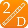 2D 长笛教程 - 指法