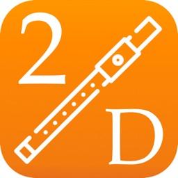 2D Flute Fingering Chart