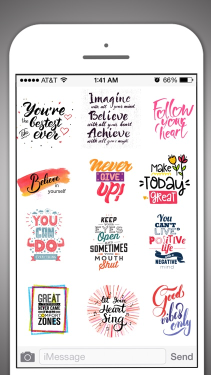 Inspirational Success Stickers