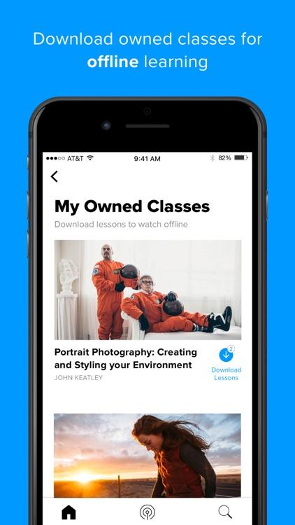 CreativeLive: online classes screenshot-4