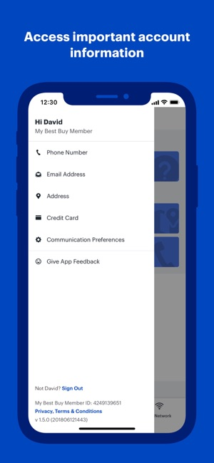 best buy credit card app iphone