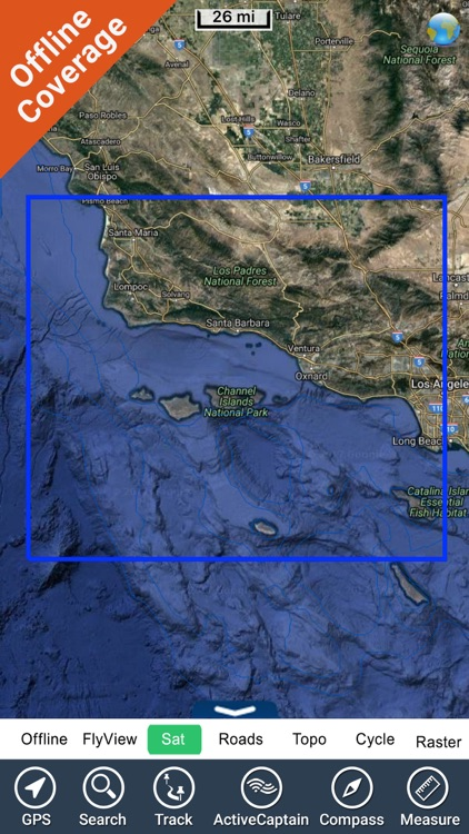 Channel Islands NP GPS charts screenshot-4