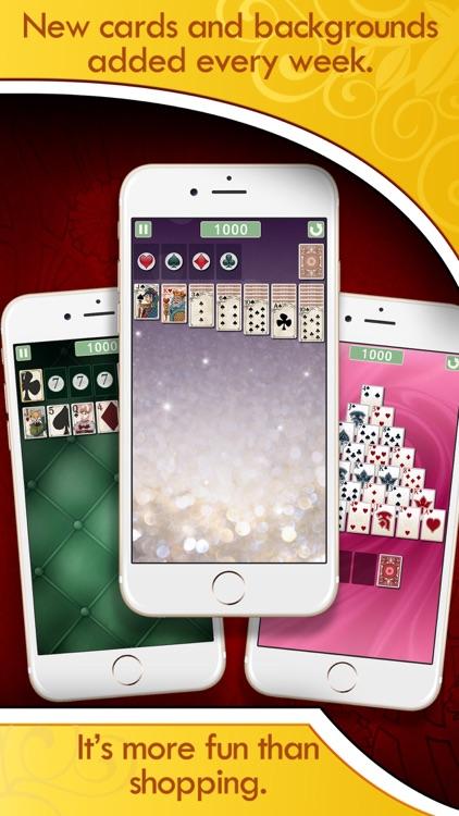 Solitaire Deluxe® Social screenshot-4