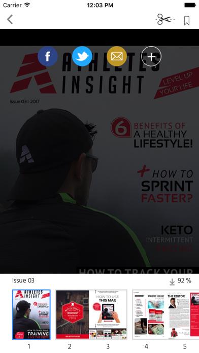 ATHLETES INSIGHT MAGAZINE screenshot 2
