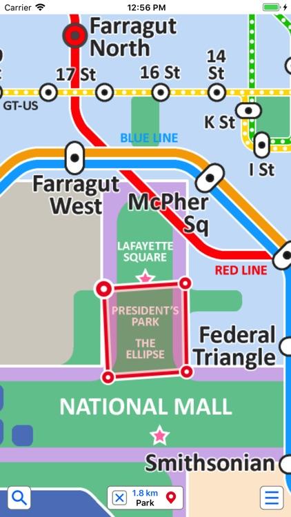 Washington Metro by Zuti screenshot-3