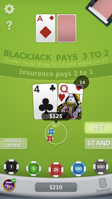 Blackjack ◇ screenshot 10