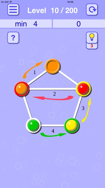 Balls Line Holes: Logic Game