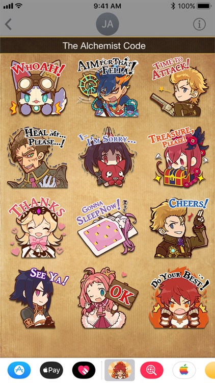 The Alchemist Code Stickers