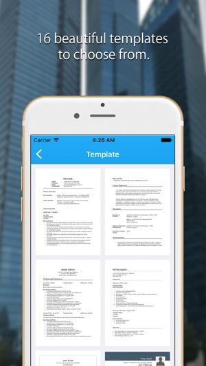 Resume Expert - Pro CV Builder on the App Store