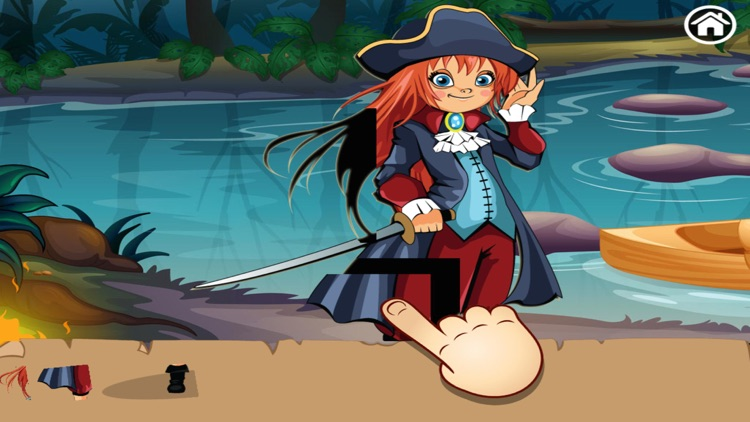 Treasure Island Puzzles screenshot-2