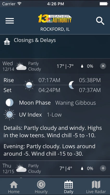 WREX Weather screenshot-3