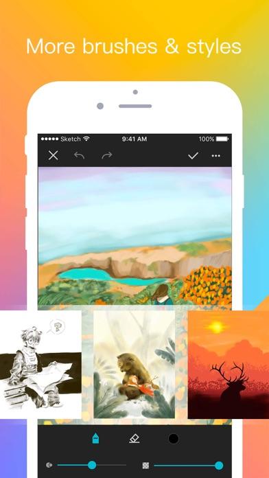 Sketch Pi - Creative world screenshot two