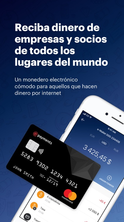 ePayments – electronic wallet