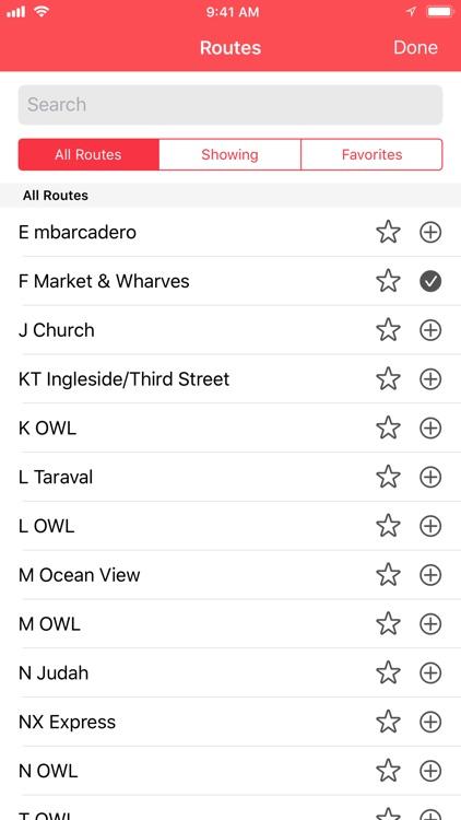 Muni Watch Transit App